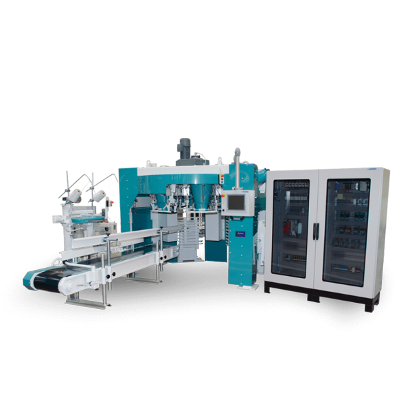 Six Spout Carousel Bagging Machine