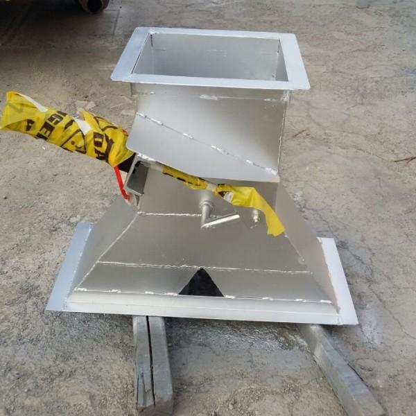 electric slide gate grain